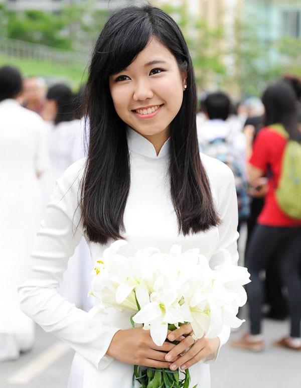 Hoa khôi Tràng An đạt học bổng tiền tỷ tại Mỹ - 1