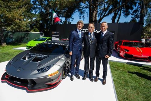 Siêu phẩm Lamborghini Huracan Super Trofeo trình làng - 1