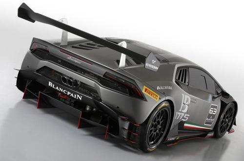 Siêu phẩm Lamborghini Huracan Super Trofeo trình làng - 4