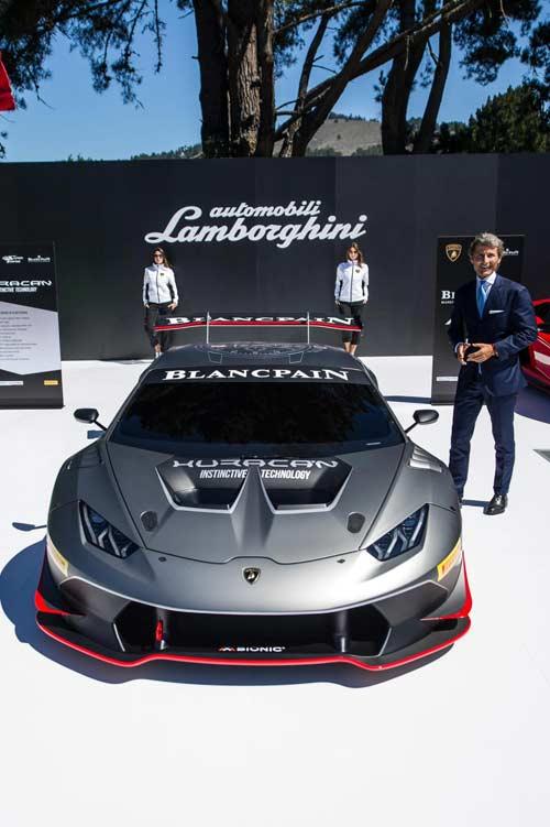 Siêu phẩm Lamborghini Huracan Super Trofeo trình làng - 8