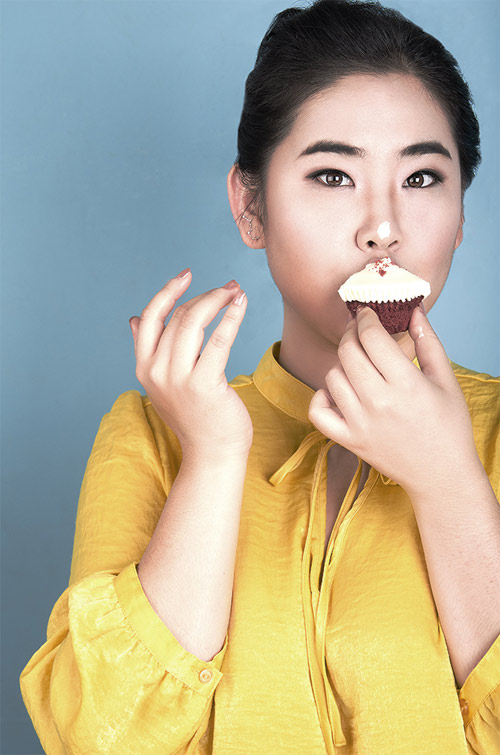 Vivian Kim: Mẫu béo xinh đẹp, sexy nhất châu Á - 10