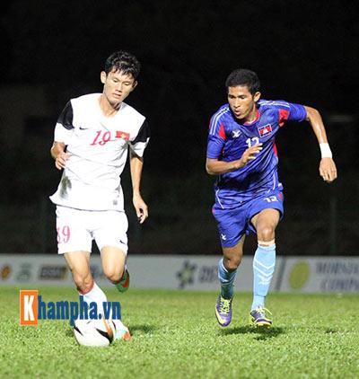 """Cập nhật U19 VN-U21 Campuchia: """"Đè bẹp"""" đối thủ (KT) - 7"""