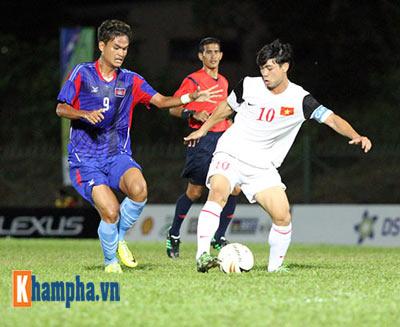 """Cập nhật U19 VN-U21 Campuchia: """"Đè bẹp"""" đối thủ (KT) - 10"""