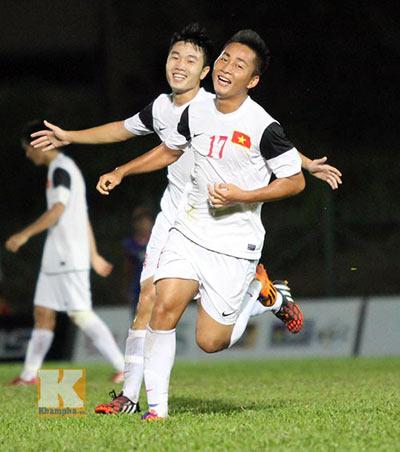 """Cập nhật U19 VN-U21 Campuchia: """"Đè bẹp"""" đối thủ (KT) - 8"""