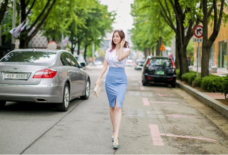 5 kiểu chân váy bút chì đẹp cho bạn gái - 2