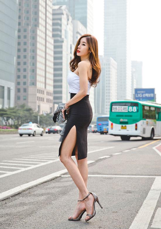 5 kiểu chân váy bút chì đẹp cho bạn gái - 3