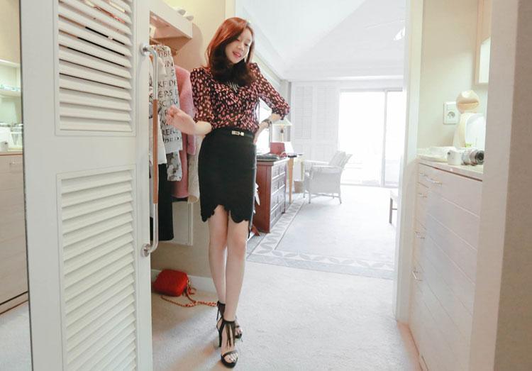5 kiểu chân váy bút chì đẹp cho bạn gái - 6