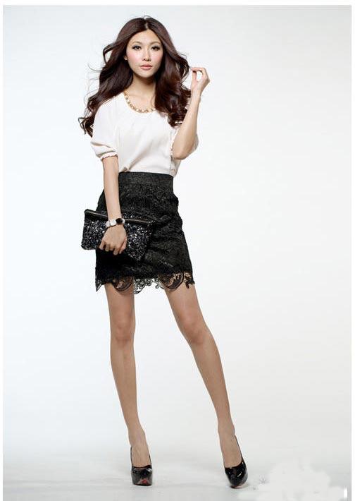 5 kiểu chân váy bút chì đẹp cho bạn gái - 12