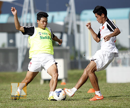 """U19 VN nguy cơ mất """"lá chắn thép"""" trận gặp U19 Thái - 1"""