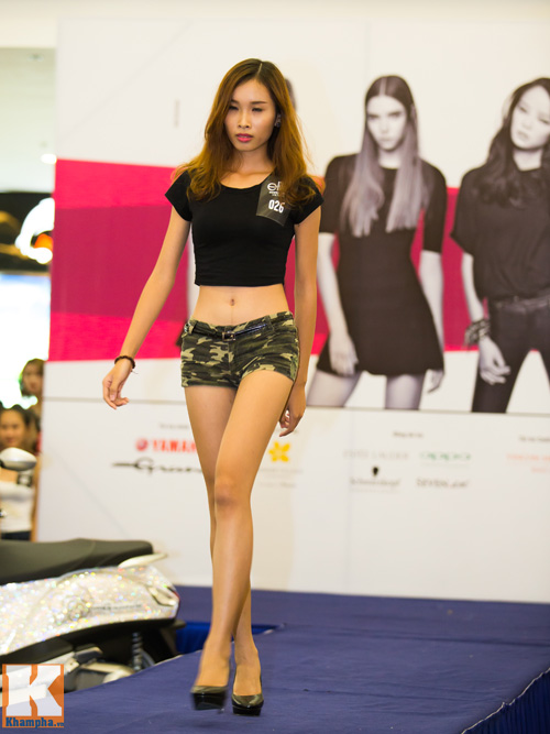 Hà Anh tư vấn ăn mặc cho thí sinh người mẫu - 2