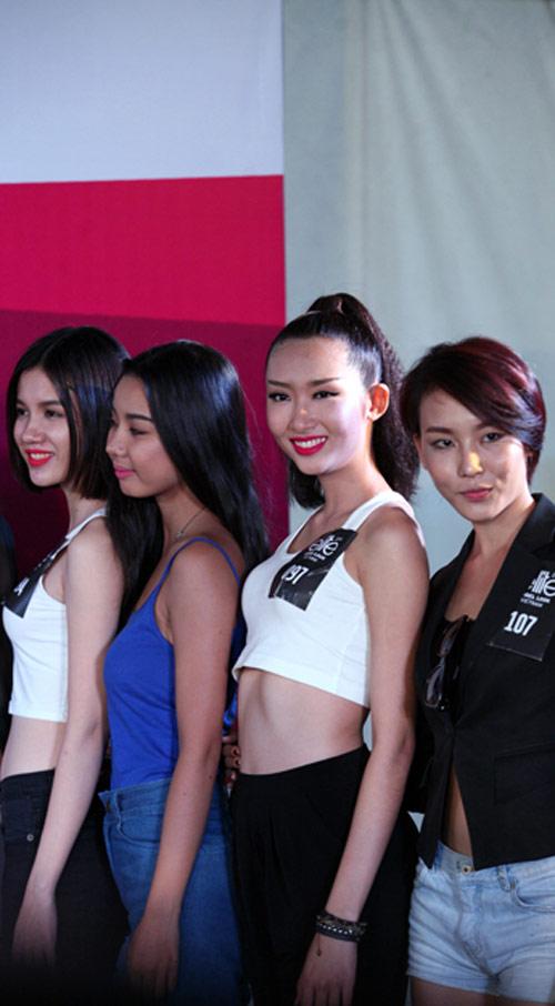 Hà Anh tư vấn ăn mặc cho thí sinh người mẫu - 7