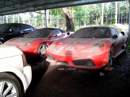 Dàn siêu xe Ferrari phủ bụi ở Việt Nam - 4