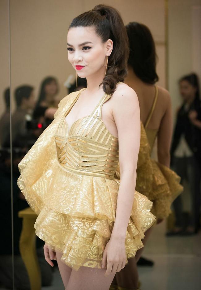Hồ Ngọc Hà từng là người mẫu sáng giá trong làng thời trang Việt Nam.