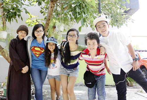Vợ chồng Giang Hồ cùng học trò The Voice Kids hát về mẹ - 8