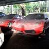 Dàn siêu xe Ferrari phủ bụi ở Việt Nam