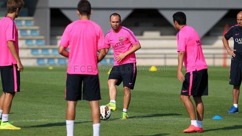 """Iniesta: Barca đã sẵn sàng giành """"cú ăn ba"""" - 1"""