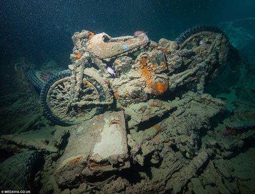 Phát hiện kho xe cổ dưới lòng đại dương - 5