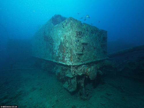 Phát hiện kho xe cổ dưới lòng đại dương - 7