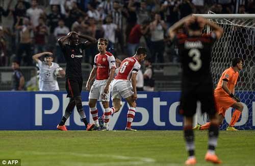 Besiktas – Arsenal: Áp lực liên hồi - 1