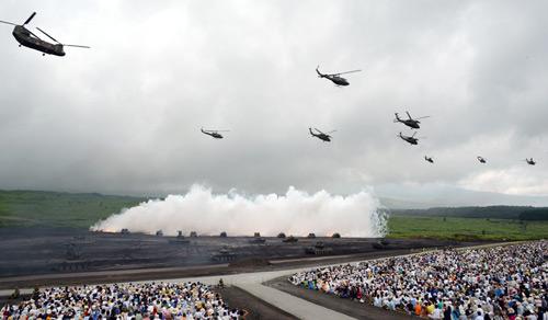 Mãn nhãn xem Nhật phô diễn hỏa lực dưới núi Phú Sĩ - 2