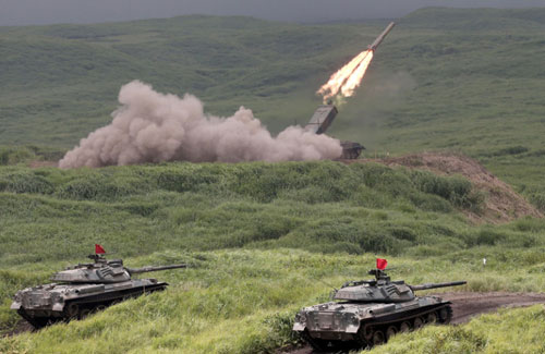 Mãn nhãn xem Nhật phô diễn hỏa lực dưới núi Phú Sĩ - 8
