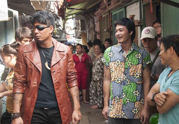 Những quý ông showbiz Việt vào vai giang hồ cộm cán - 6