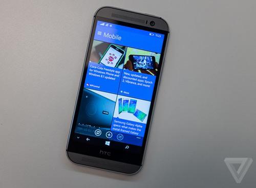HTC One M8 chạy Windows Phone chính thức ra mắt - 4