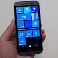 HTC One M8 chạy Windows Phone chính thức ra mắt