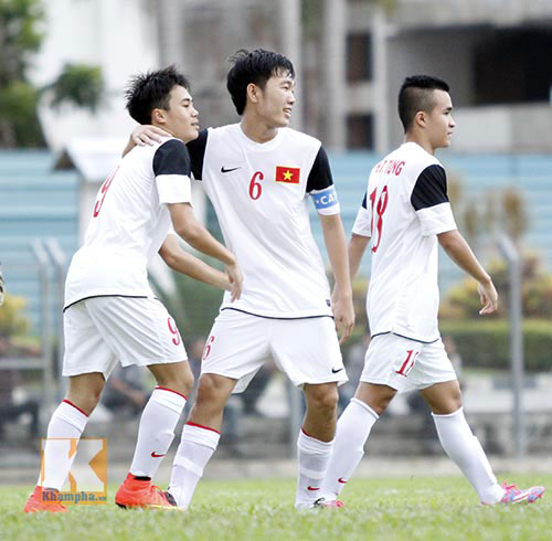 Truyền hình trực tiếp U19 VN - U19 Thái trên VTV6 - 1
