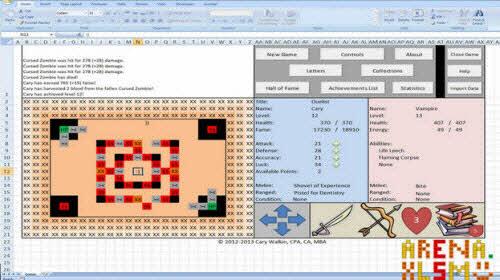 8 bức ảnh không tưởng vẽ bằng MS Excel - 4