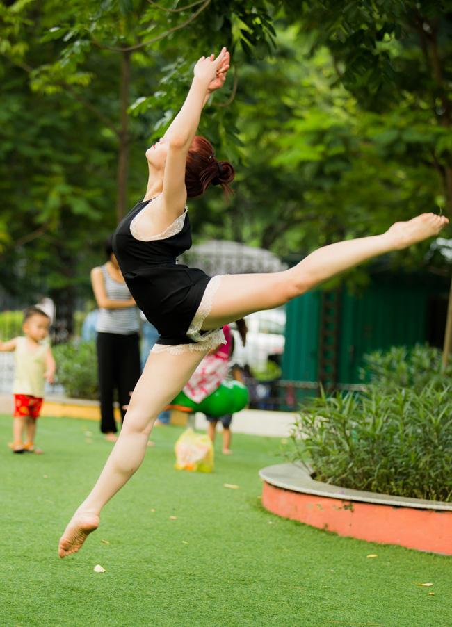 Thảo Vân bắt đầu học múa từ năm 12 tuổi
