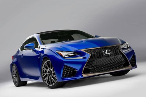"""Lexus RC F 2015 giá """"chát"""" hơn BMW M4 Coupe - 1"""