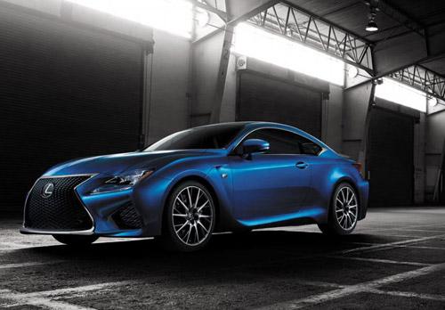 """Lexus RC F 2015 giá """"chát"""" hơn BMW M4 Coupe - 2"""
