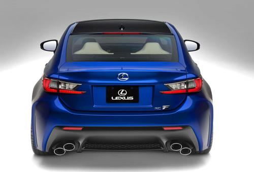 """Lexus RC F 2015 giá """"chát"""" hơn BMW M4 Coupe - 3"""