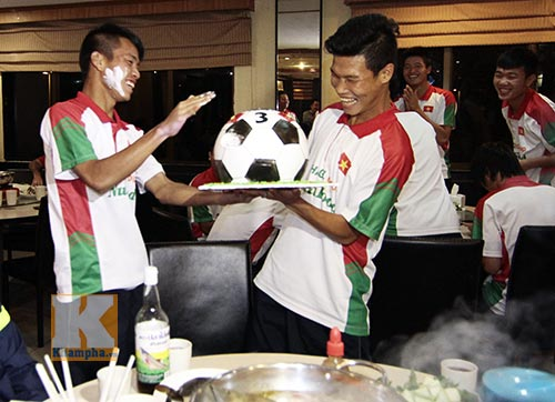 U19 VN: Đông Triều đón sinh nhật đặc biệt nhất - 1