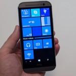 Thời trang Hi-tech - HTC One M8 chạy Windows Phone chính thức ra mắt