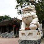 Tin tức trong ngày - Đặt sư tử đá ở đền chùa: Nhầm chỗ!