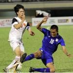 """Bóng đá - Video: U19 Thái """"chơi kung-fu"""" với U19 Việt Nam"""