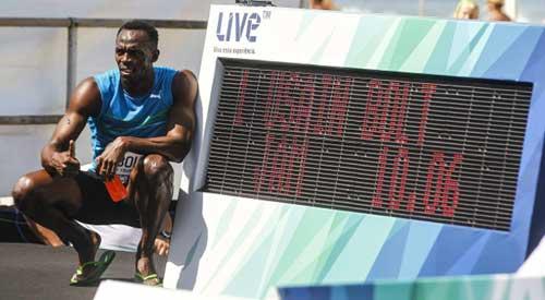 Bolt đứng trước kỷ lục thế giới ngày trở lại - 1