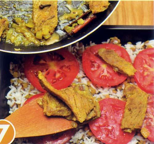 Hấp dẫn cơm thịt bò Biryani - 7