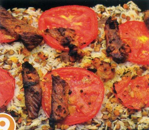 Hấp dẫn cơm thịt bò Biryani - 9