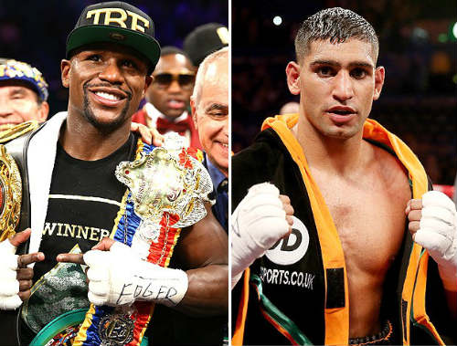 Trận boxing trong mơ Amir Khan–Mayweather gặp rắc rối - 1