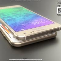 Samsung Galaxy Alpha đọ dáng iPhone 6 concept
