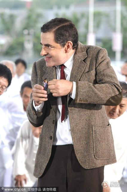 Vua hài Mr. Bean quậy hết cỡ trên quảng trường Thượng Hải - 6