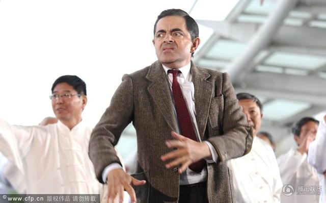 Vua hài Mr. Bean quậy hết cỡ trên quảng trường Thượng Hải - 7