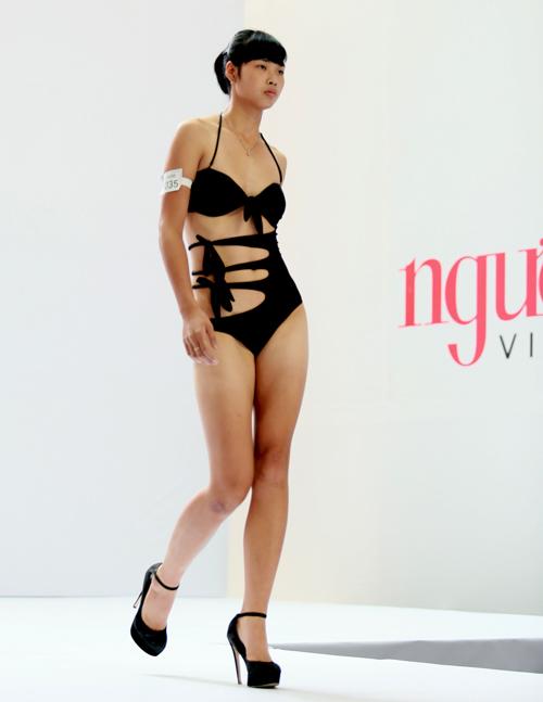 Ứng viên miền Bắc xấu - đẹp với bikini - 2