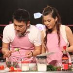 Ca nhạc - MTV - MC Tuấn Anh khoe tài nấu ăn cùng vợ trên sóng truyền hình