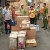 Tạm giữ bốn tấn bột ngọt Trung Quốc nhập lậu