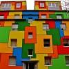 Những ngôi nhà sặc sỡ nhất thế giới