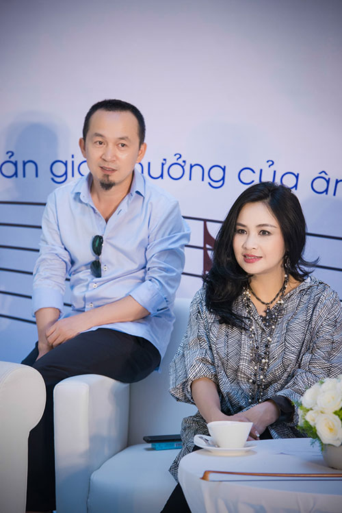 Thanh Lam rạng rỡ bên chồng cũ - 1